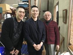 京都の伝統産業 : 織成館、組み紐体験、金襴工房 in 西陣