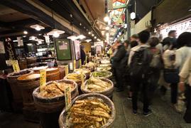 ようこそ、400年以上続く京の台所へ
